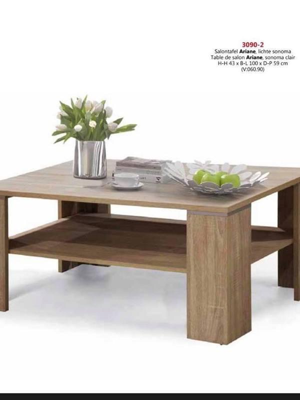 table basse couleur sonoma