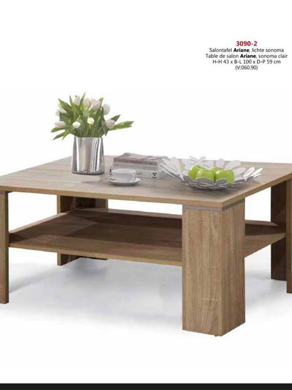 table basse couleur sonoma