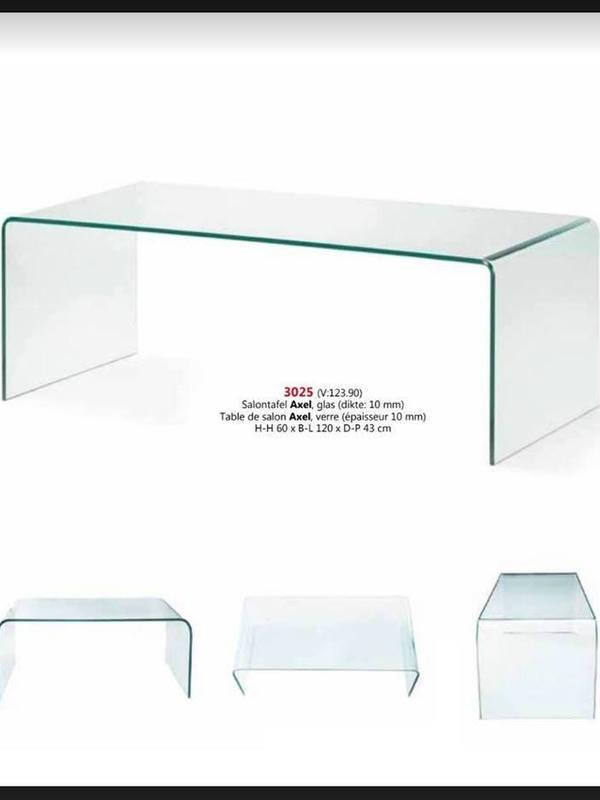 Table de salon Axel