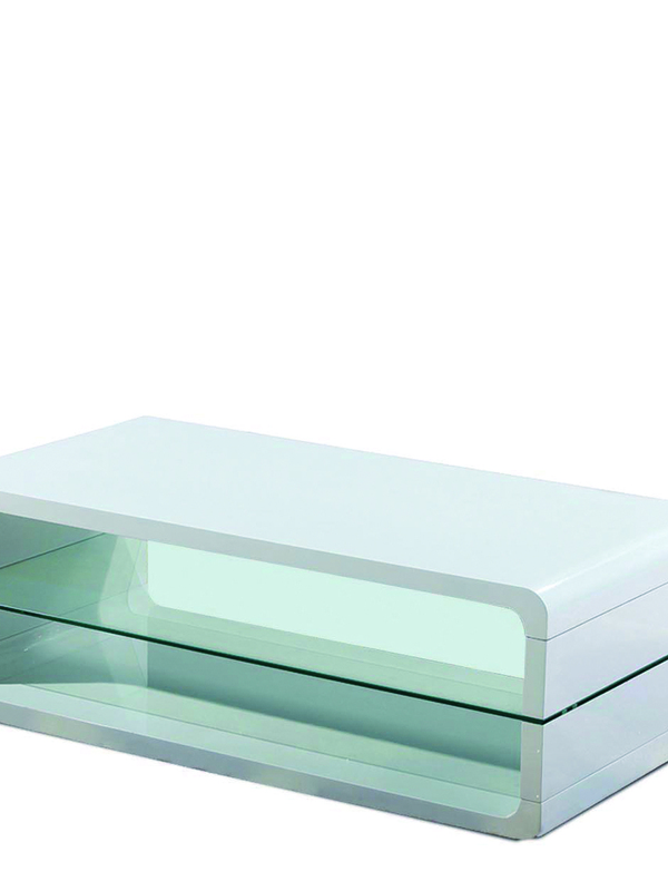 meuble tv derby blanc laqué 2100-1