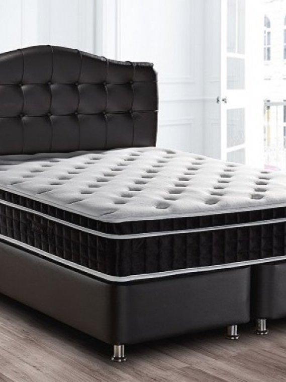 Lit coffret / boxspring luxor 160x200