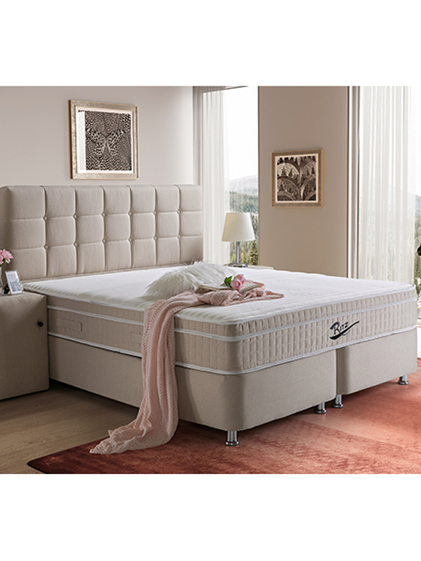 Lit boxspring / coffret  ritz 140x200