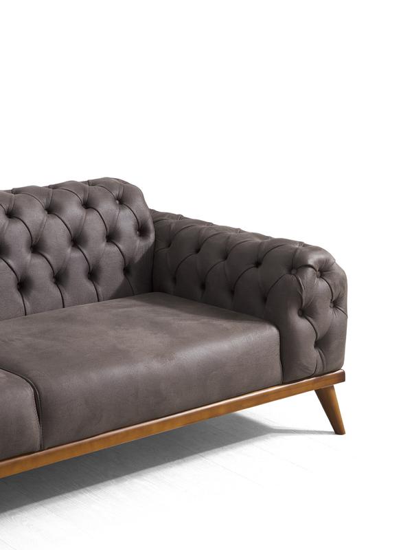 canapé moderne adonay  3+3+1+1